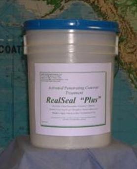 Real Seal Plus Penetrating Concrete Treatment