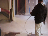 painting floor thermal over cement